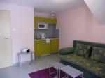 III. apartmán - obývák s kuchyní